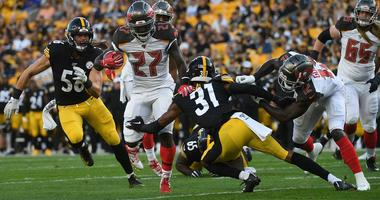 Pittsburgh Steelers vs Tampa Bay Buccaneers at Heinz Field on August 9, 2019