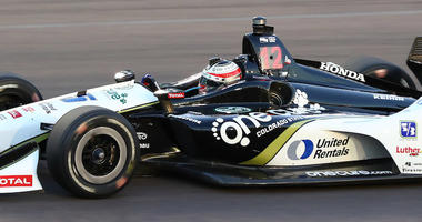 Graham Rahal No. 15 United Rentals Honda