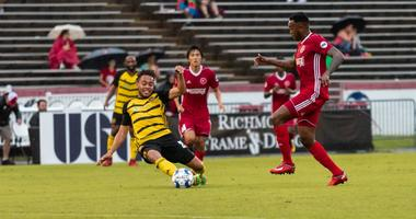 Pittsburgh Riverhounds SC take on Richmond Kickers