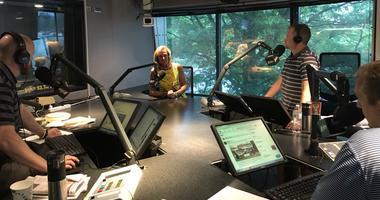Heather Lyke in-studio w/ The Fan Morning Show