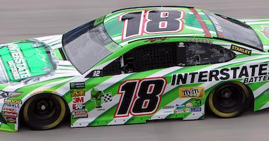 Kyle Busch Joe Gibbs Racing No. 18 Interstate Batteries Toyota Camry