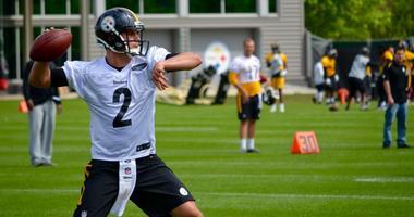 Steelers quarterback Mason Rudolph