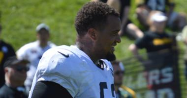 Steelers center Maurkice Pouncey