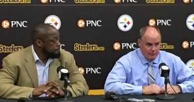Mike Tomlin and Kevin Colbert