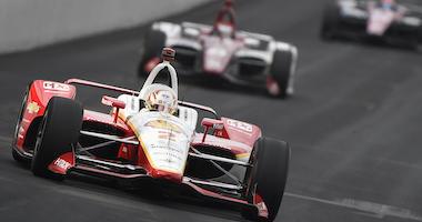 Team Penske's Josef Newgarden In The No. 2 Shell Chevrolet