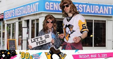 Penguins 90's night