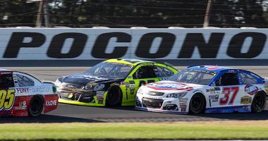 Monster Energy Cup Series Cars Race At Pocono Raceway