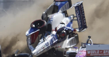 Marco Andretti Gets Collected In First Lap Crash At Grand Prix Of Portland