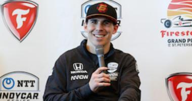 Robert Wickens Visits NTT IndyCar Firestone Grand Prix Of St. Petersburg