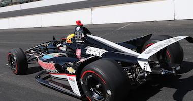 Spencer Pigot's Ed Carpenter Racing's Chevrolet At Indy
