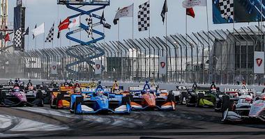 NTT IndyCar Series Firestone Grand Prix Of St. Petersburg Start