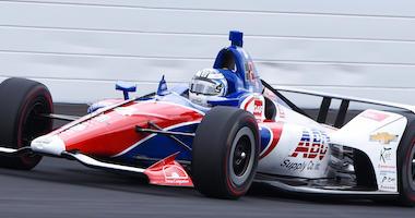 ABC Supply AJ Foyt Racing's Tony Kanaan At Indianapolis Motor Speedway