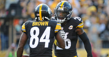 Antonio Brown & Le'Veon Bell