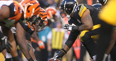 Steelers offensive line vs. Bengals defensive line