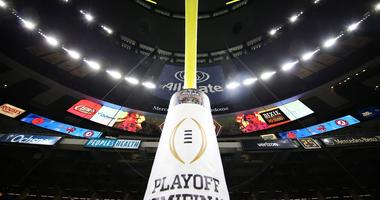 The College Football Playoff logo