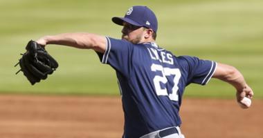 Pitcher Jordan Lyles