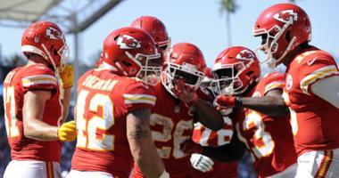 Chiefs celebration