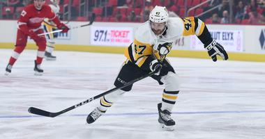 Pittsburgh Penguins center Adam Johnson