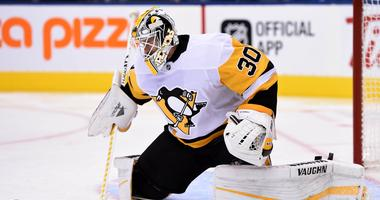 Pittsburgh Penguins goalie Matt Murray