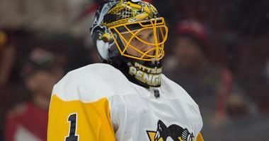 Pittsburgh Penguins goalie Casey DeSmith