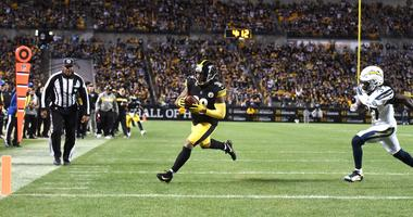 Pittsburgh Steelers running back Jaylen Samuels