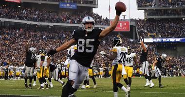 Derek Carrier TD on Steelers