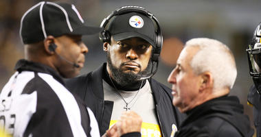 Mike Tomlin and Danny Smith