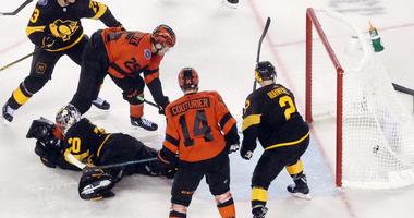 Matt Murray allows goal vs. Flyers