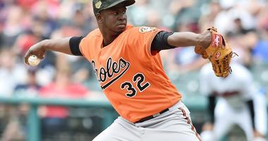 Baltimore Orioles starting pitcher Yefry Ramirez