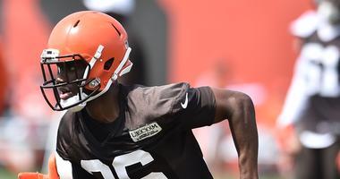 Cleveland Browns defensive back Jhavonte Dean Cleveland Browns defensive back Jhavonte Dean