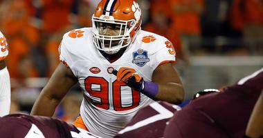 Clemson Tigers defensive tackle Dexter Lawrence