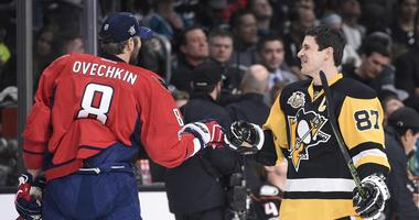 Sidney Crosby and Alexander Ovechkin