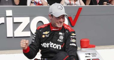 Will Power Celebrates 51st Career Pole Position