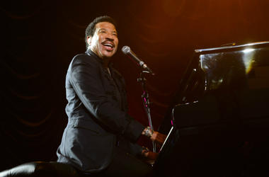Lionel Ritchie performs at the Henley Festival in Henley-on-Thames, Oxfordshire.