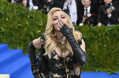 Madonna attends the 'Rei Kawakubo/Comme des Garcons: Art Of The In-Between' Costume Institute Gala