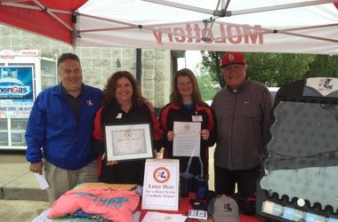 Van Lorenz and Missouri Lottery at Walis Petroleum