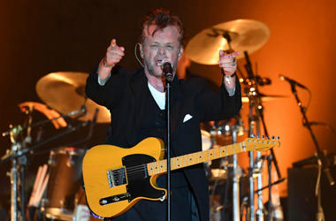 Recording artist John Mellencamp performs at the Mizner Park Amphitheater.