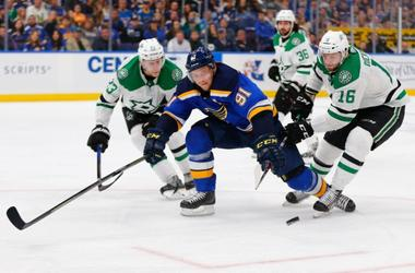 St. Louis Blues and Dallas Stars