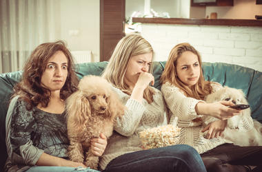 Watching TV with Your Pets