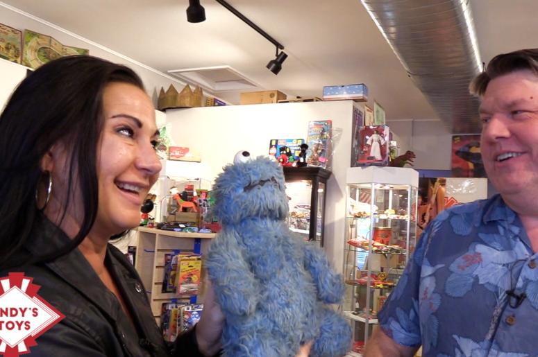 Trish Gazall at Andy's Toys