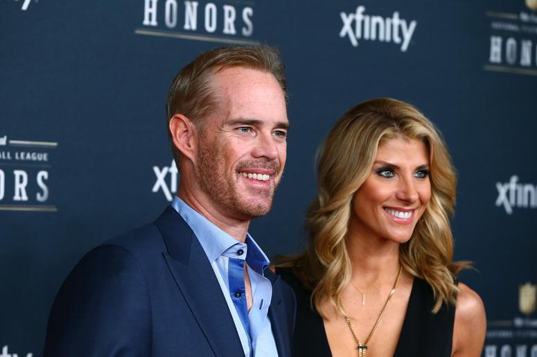 Joe Buck and wife