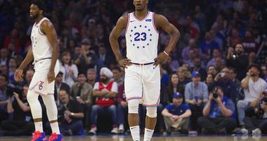 Jimmy Butler of the Philadelphia 76ers.