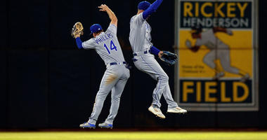 KC Royals comeback win in Oakland