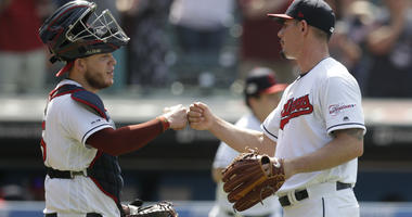 Bauer strikes out season-high 12; Indians top KC 5-3