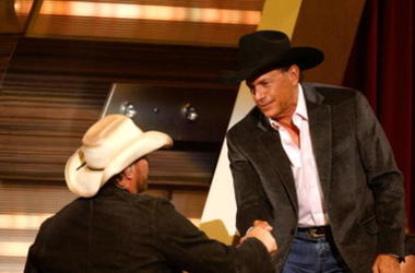 Toby Keith and George Strait