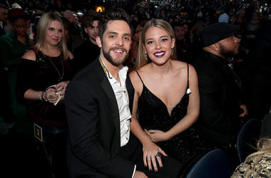 Thomas Rhett and wife Lauren