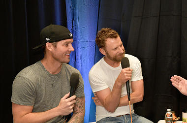 Brett Young and Dierks Bentley