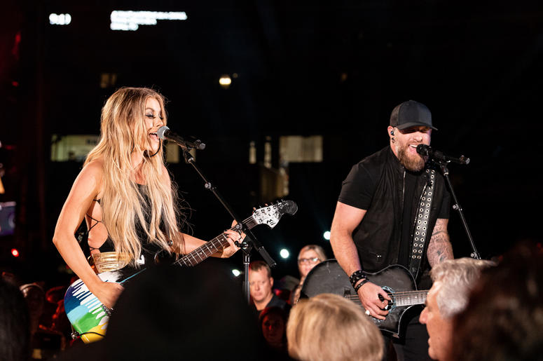 Brantley Gilbert and Lindsay Ell