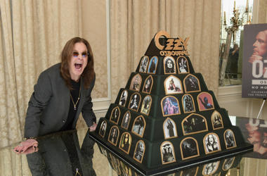 Ozzy Osbourne Announces 'No More Tours 2' Final World Tour at Press Conference at his Los Angeles Home on February 6, 201