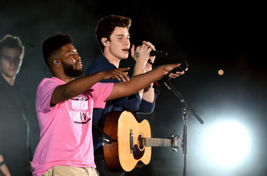 "Shawn Mendes and Khalid perform ""Youth"" at We Can Survive"